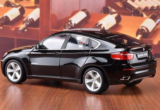 Welly Bmw X6 Diecast Suv Model 1 18 Silver Red Black White Bb01a002