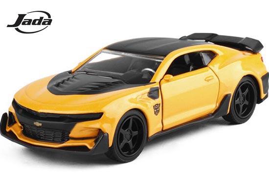 Jada Chevrolet Camaro Diecast Car Toy 1 32 Scale Yellow Bb01a378