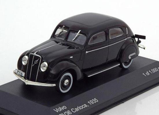 Whitebox 1935 Volvo Pv36 Carioca Diecast Car Model 143 Black Bb01a473