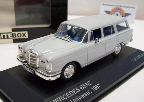 Mercedes 230 s universal negro 1967 1:43 Whitebox