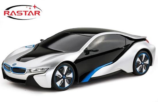 Rastar R C Bmw I8 Car Toy 1 24 Scale Red White Blue Bb01a524