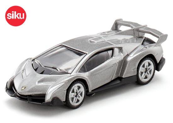Blister Siku 1485 Lamborghini Veneno blau metallic Modellauto NEU!°