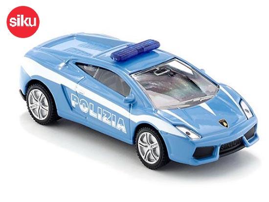 Siku 1405 Lamborghini Gallardo Diecast Police Car Toy Blue Bb01a935
