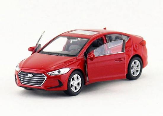 Hyundai Elantra Ad Limousine Blue From 2015 Ca 1//43 1//36-1//46 Welly Model Car