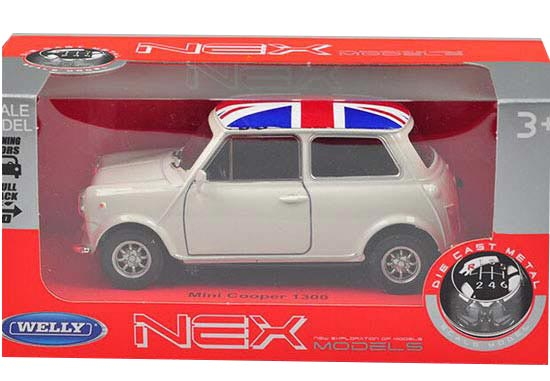 1:36 Welly Mini Cooper 1300 Diecast Model Car Toy Red