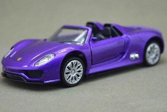 Caipo Porsche 918 Spyder Diecast Car Toy 1 43 Pink Purple Bb02b049