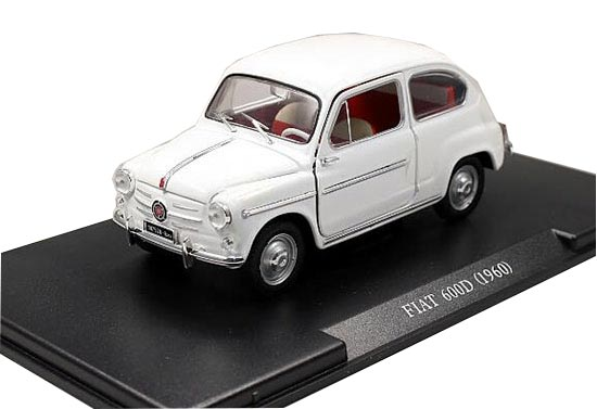 New Unopened Box Scale 1//60 WELLY- FIAT 600