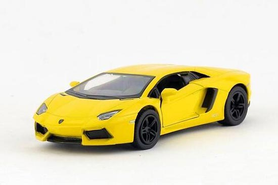 1:43 Diecast Car Model Toys Lamborghini Aventador LP700-4 Pull Back Replica