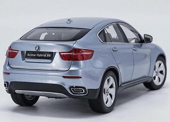 BMW ActiveHybrid X6  in wasserblau metallic  Kyosho  Maßstab 1:18  OVP  NEU